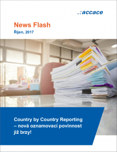 Country by Country Reporting v České republice | News Flash